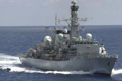 British frigate sails through sensitive Taiwan Strait