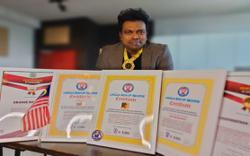 Malaysian music composer recognised for longest musical marathon
