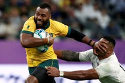 Rugby-Calmer Kerevi savouring stellar return with Wallabies