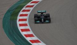 Hamilton hits 100 but engine concerns hang over title bid