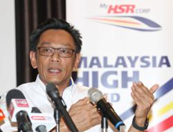 12MP: Focus on improving transport sector will attract foreign investments, says MyHSR Corp CEO