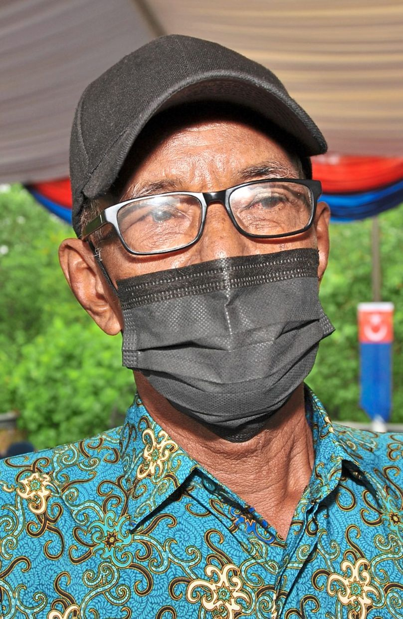 Abdul Rahim is glad his four-year wait has finally ended with the completion of his new house.