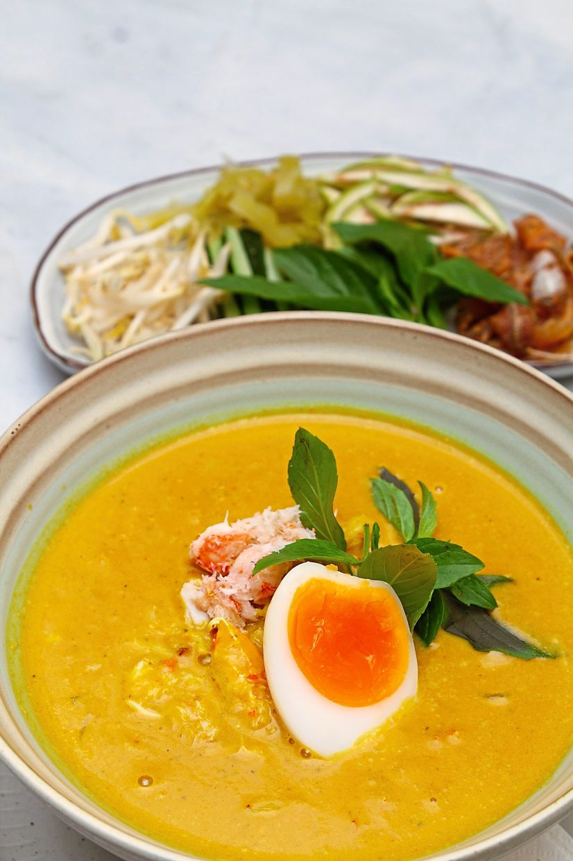 The Thai crab laksa is delightful from start to finish.