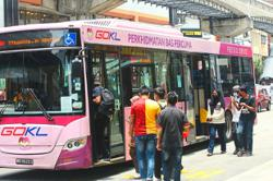 Getting more to use public transport