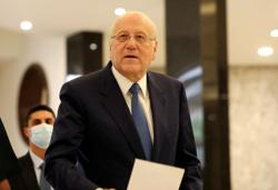 Lebanon's Mikati says he did not discuss Saudi on recent France visit