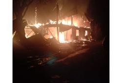 Nonagenarian killed in Penampang house fire, wife suffers burns