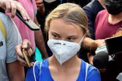 Activist Greta Thunberg not very optimistic about Italy climate talks