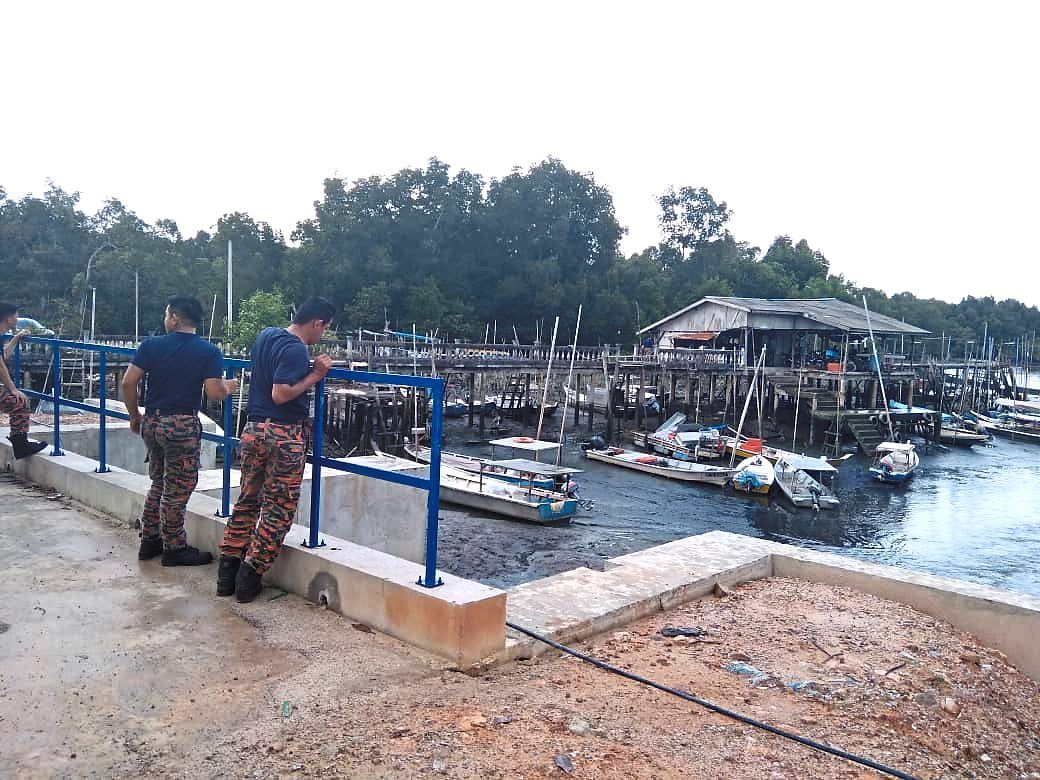 Klang Fire and Rescue Department's equipment for relief work are on standby, including boats and life jackets. — Courtesy photo