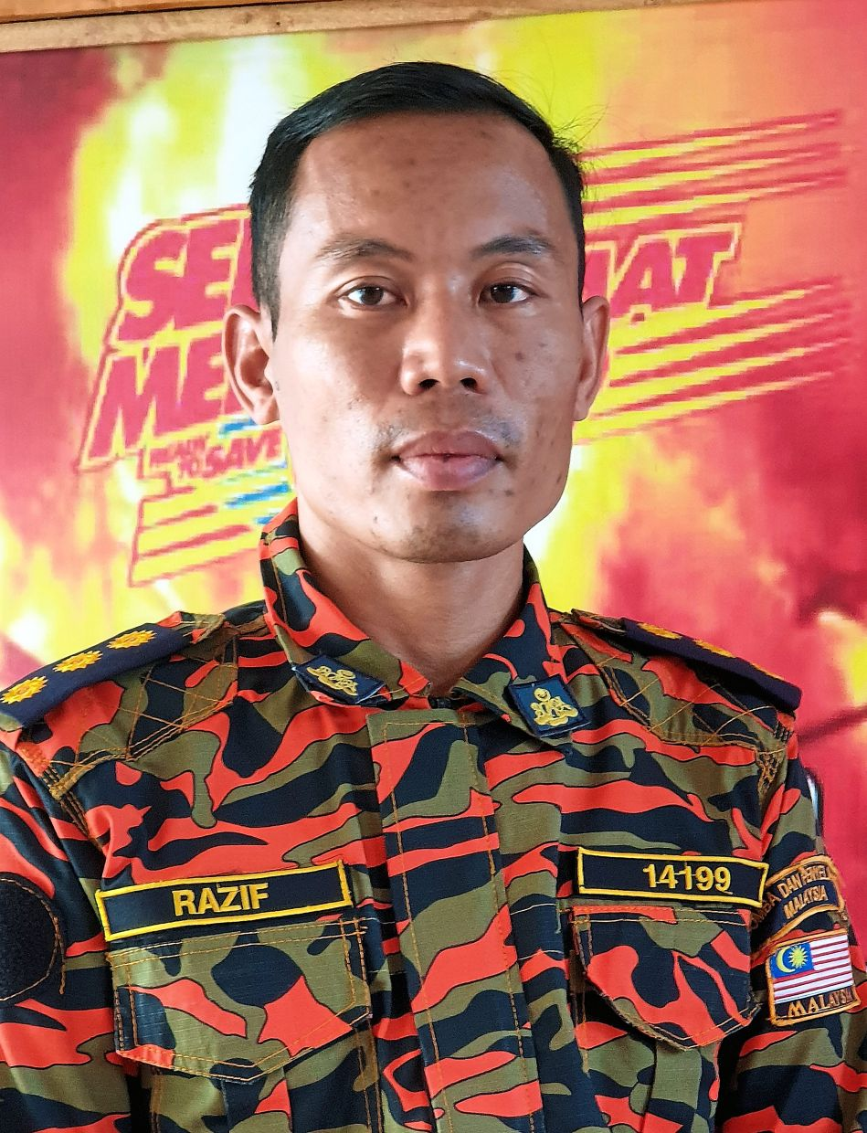 Razif says all fire stations are on high alert and ready for rescue work in case of flash floods.