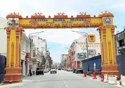 Melaka unveils new arch to symbolise unity