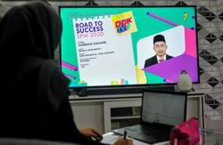 Dedicated education channels well received by parents and students, says Radzi
