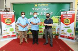 Groceries provided to Hulu Selangor folk
