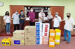 Six hospitals receive medical supplies through crowdfunding initiative