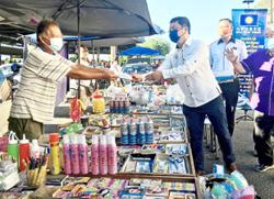 Open for business without fear as long as follow SOP, councillor tells traders