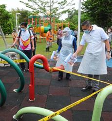 MBSJ parks spruced up, sanitised for reopening today