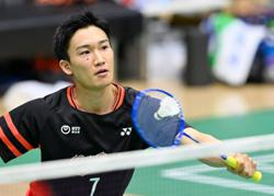 Momota powers his way past Zii Jia as Japan win group tie