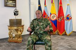 Exclusive-Some 1,900 Colombian guerrillas operating from Venezuela, says Colombia military chief