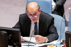 French Foreign Minister Le Drian to hold talks with United States' Blinken on Oct 5