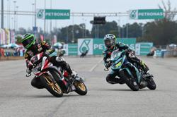 Injured Azroy still tops red-flagged race