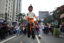 Brazilians demonstrate against Bolsonaro