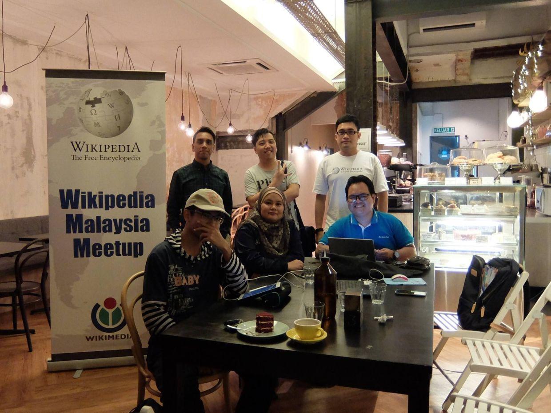 Wikipedia meetup with Creative Commons Malaysia in Kuala Lumpur.