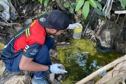 Kajang Municipal Council detects river pollution caused by margarine spill from factory
