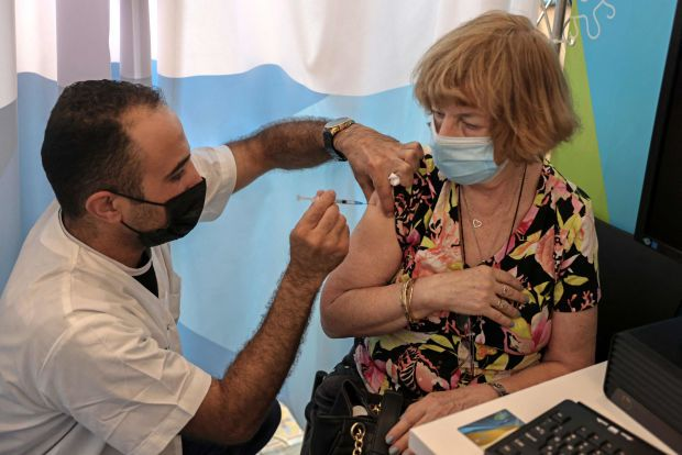 Pfizer vaccine third shot Israel