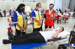 Blood drive exceeds target