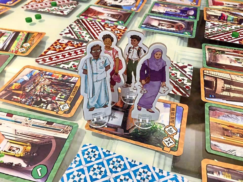 Tabletop game Kaki Lima, which 'tours' George Town's famed 'five foot ways', is a unique way to reconnect with heritage. Photo: Filepic