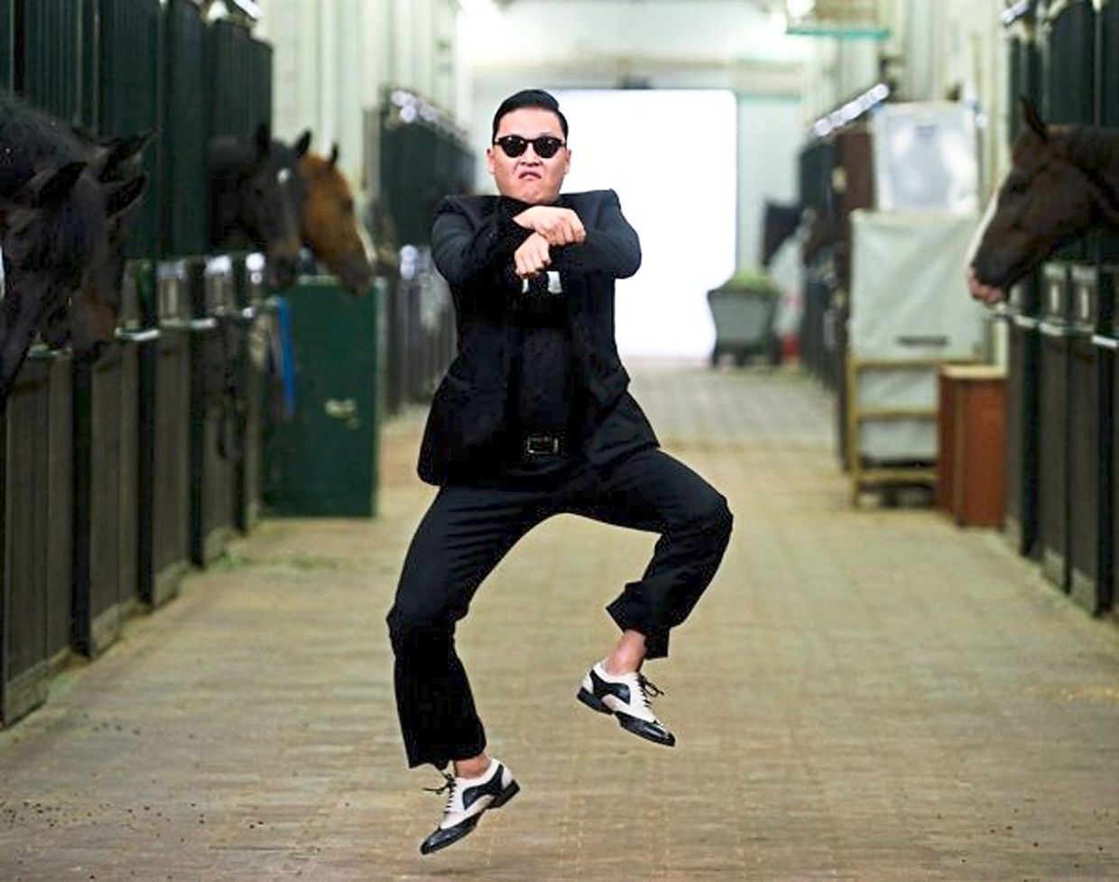 South Korean singer Psy's 'Gangnam Style' helped push K-pop culture to greater heights. Photo: Filepic