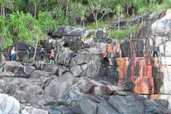 Unique via ferrata trail in Pulau Lang Tengah attracts extreme sports fans