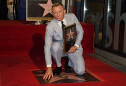 James Bond actor Daniel Craig gets his own Walk of Fame star