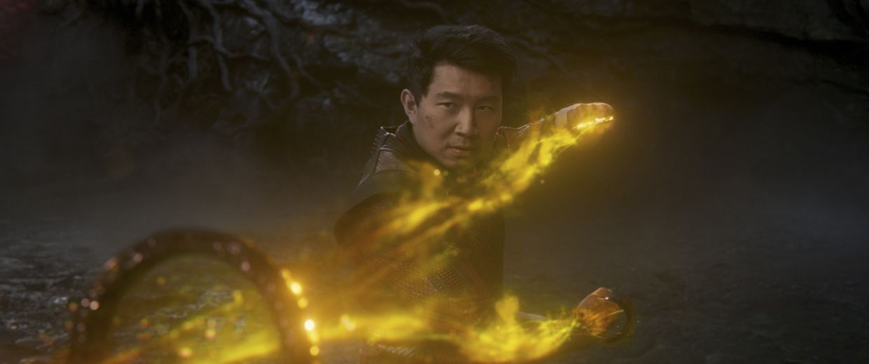"Simu Liu as Shang-Chi, whose name roughly translates to ""rising of the spirit""."