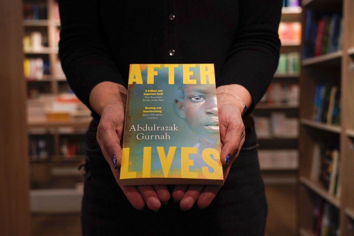 Gurnah's latest novel, 'Afterlives', was released last year and tells the story of a young boy who was sold to German colonial troops. Photo: AP