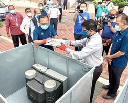 E-waste collection programme kicks off in Ipoh, next stop Gunung Lang park