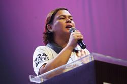 Sara Duterte insists she is running for Davao mayor, not Philippine president