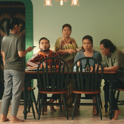 A scene from 'Keluarga Besar En. Karim (The Karims)'. Photo: Checkpoint Theatre