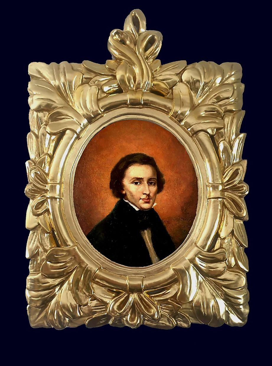 The small painting now resides in a bank vault somewhere in eastern Poland while its owners negotiate their next steps. News of the artwork's existence broke this week as Warsaw hosted the 18th Frederic Chopin Piano Competition. The art expert who examined the portrait says it has significant historic value, but he refrained from estimating what it might sell for. Photo: AP