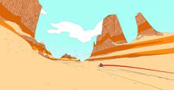 'Sable': glide over endless desert in search of adventure