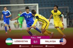 Harimau Malaya get another mauling in 1-5 defeat to Uzbekistan
