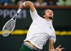 Tennis-U.S. Open champ Medvedev cruises into Indian Wells third round