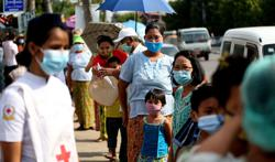Myanmar's Covid-19 issues keep rising as it reports 1,448 new Covid-19 cases and 36 more deaths