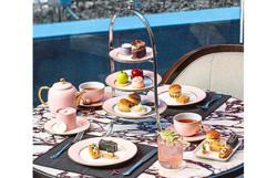 Raising funds for cancer society with afternoon tea sets