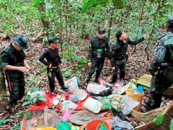 Crackdown on illegal gold mining in Sabah