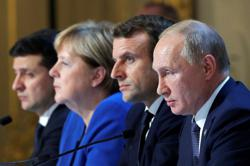 France, Germany, Ukraine, Russia agree to ministerial-level meeting -Germany