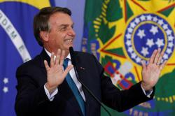 Brazil's Bolsonaro says he is 'bored' by questions on COVID-19 deaths