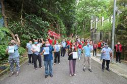 Segambut folk against proposed high-density project