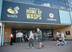 Rugby-Wasps ask RFU to address issue of fans wearing Native American headdresses