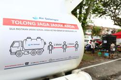 On social media, #Selangor is trending as users share memes about water woes