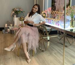 Newlywed Naddy Rahman keeps her style fresh by mixing it up